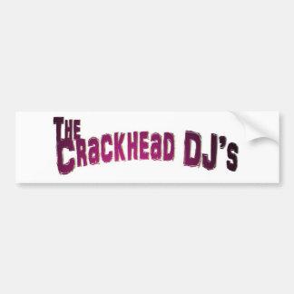 Crackhead DJS bildekal