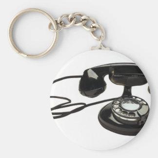 cradlephone rund nyckelring