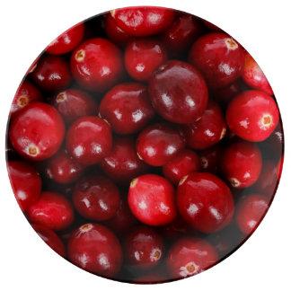 Cranberries Porslinstallrik