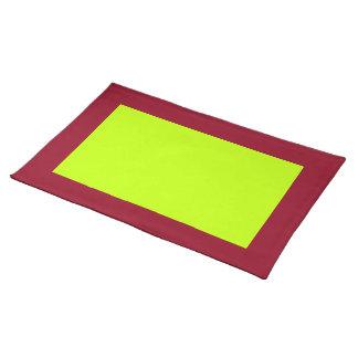 Cranberry och Limefrukt-Färgad bordstablett