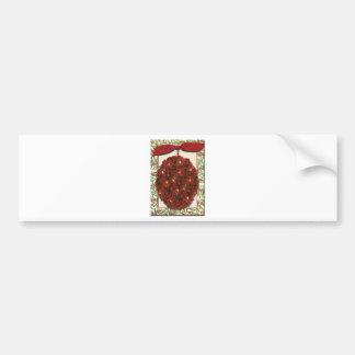 Cranberryjulgranprydnad Bildekal