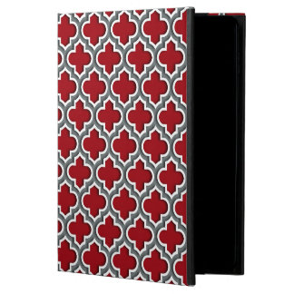 Cranberrykolvit marockanska Quatrefoil #5DS Powis iPad Air 2 Skal