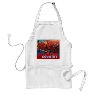 Cranberrylandförkläde Förkläde