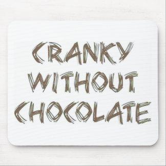 Cranky utan choklad musmatta