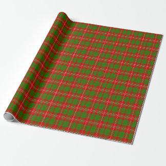 Crawford skotsk Tartan som slår in papper Presentpapper