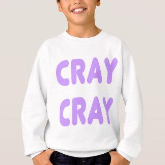 Cray Cray internet ljusa Memes - lilor Tröja