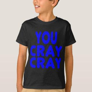 Cray Cray internetMemes kungliga blått Tröjor
