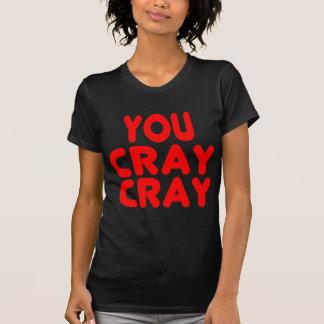 Cray Cray roliga internet röda Memes T Shirt