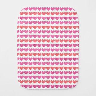 Crayon-Klottrade hjärtor Bebistrasa