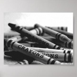 Crayonen boxas poster