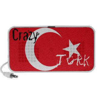 Crazy Turk on Turkish Flag PC Speakers