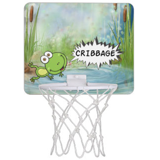 Cribbage groda Mini-Basketkorg