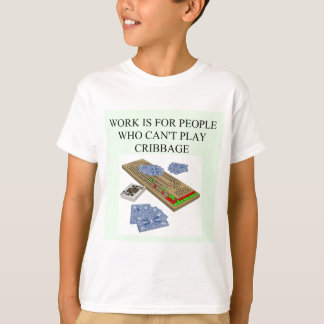 cribbagespelare t shirts