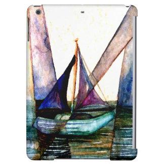 CricketDiane iPadfodral som seglar segelbåtkonst