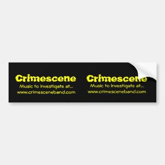 Crimescene Crimescene, musik som ska utforskas på… Bildekal