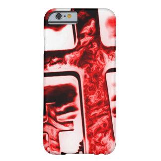 Crimson kyrkogårdAirbrushkonst Barely There iPhone 6 Skal