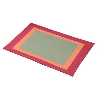 Crimson- och korall- och vis manbordstablett bordstablett