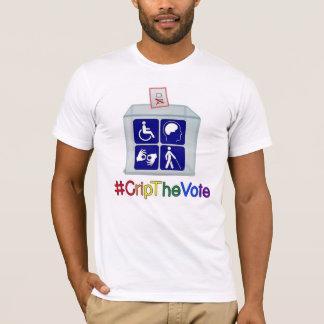 #CripTheVotet-skjorta, vit som är för manar T Shirts