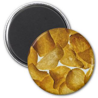 Crispy potatischiper magnet