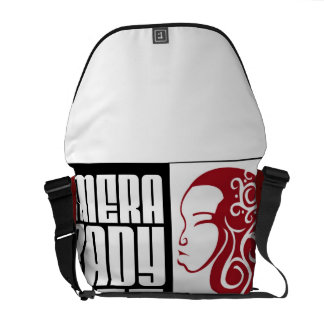 CRK-messenger bag röd | Messenger Bag