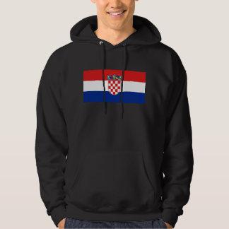 croatia tröja med luva
