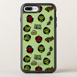 Croc Emoji för mördare för självmordSquad | OtterBox Symmetry iPhone 7 Plus Skal