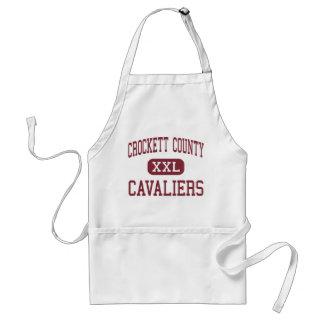 Crockett County - Cavaliers - kick - Alamo Förkläde