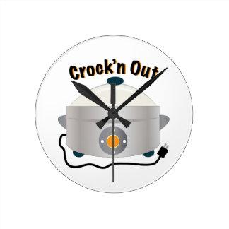 Crockn ut rund klocka