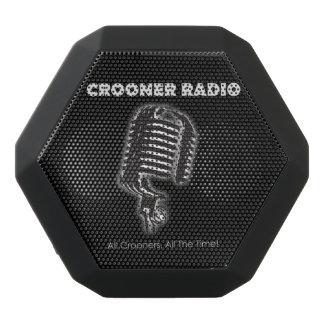 Crooneren radiosände Fästa ihoppå den Bluetooth Svart Bluetooth Högtalare