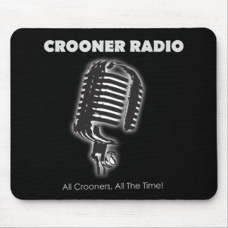 Crooneren radiosände Mousepad Musmattor