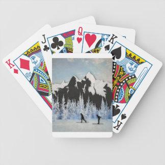 Cross country skidåkning spelkort