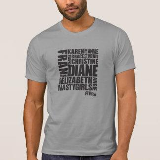 """CrossFiten """"flickor """", Tee Shirts"""