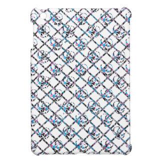 CrossHatch för skalle för socker för Blur för roso iPad Mini Fodral