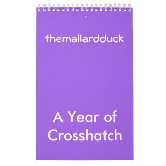 Crosshatchkalender Kalender