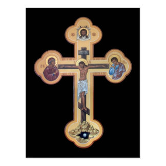 Crucifixion av lorden vykort