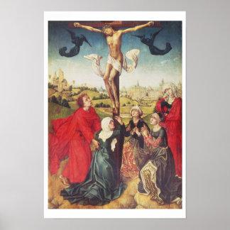 Crucifixion c.1510 (olja på panel) poster