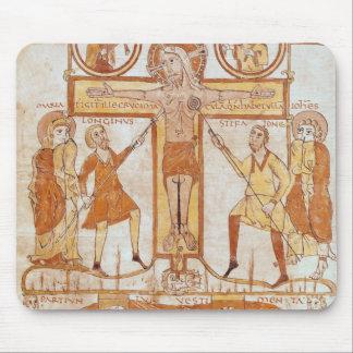 Crucifixion & uppdelning av kläder av musmatta