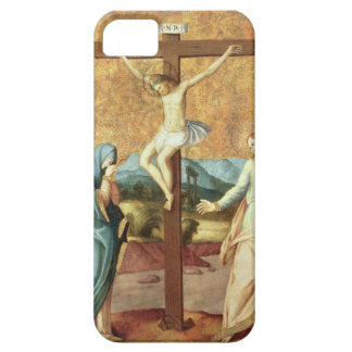 Crucifixionen med oskulden och Stet John Even iPhone 5 Case-Mate Skal