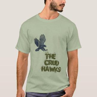 Crud hökar t shirts