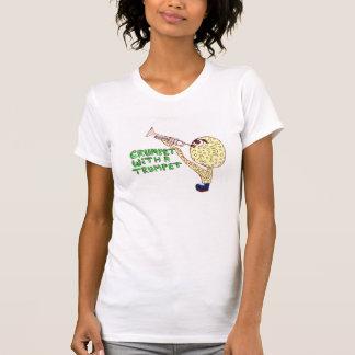 Crumpet med en trumpet t-shirt