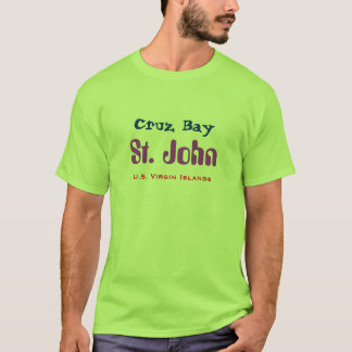 Cruz fjärd, St John Tee Shirts