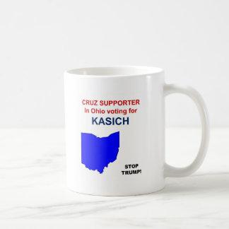 Cruz supporterröstning för Kasich i Ohio Kaffemugg