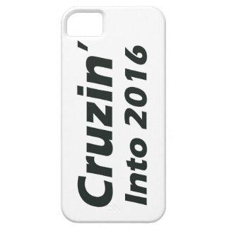 Cruzin in i 2016 - svartvitt iPhone 5 Case-Mate skydd