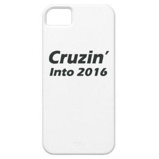 Cruzin in i 2016 - svartvitt iPhone 5 fodral