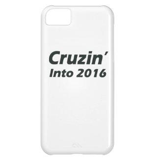 Cruzin in i 2016 - svartvitt iPhone 5C fodral