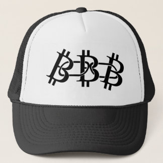 Crypto truckerkeps för Bitcoin Blockchain