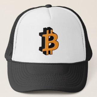 Cryptocurrency för Bitcoin logotypsymbol Keps