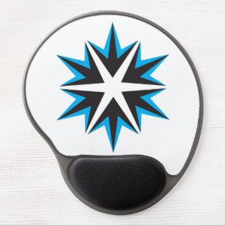 Crystal Gel Mousepad för is Gelé Musmattor