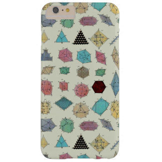 Crystal geometri barely there iPhone 6 plus skal