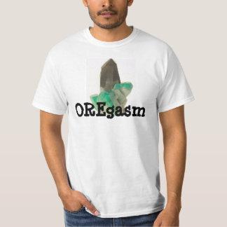 Crystal gräva malmletareskjorta roliga Amazonite Tee Shirts